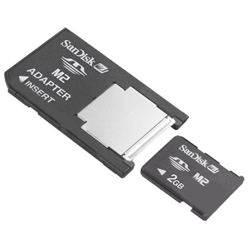SanDisk M2ADAPTER CFD 0MB Memory Stick Micro M2 to Memory Stick Adapter