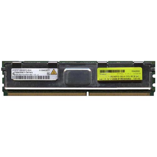 8GB 240p PC2-5300 CL5 18c 2x512x4 DDR2-667 2Rx4 1.8V ECC FBDIMM