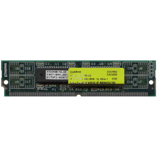 Kingston KTC2430/16 8MB 72p 60ns 4c 1x16 EDO SIMM