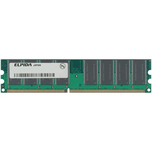 Elpida EBD52UC8AMFA-6B ACA 512MB 184p PC2700 CL2.5 16c 32...