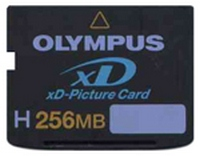Olympus MXD256H3 BWY 256MB 18p xD Picture Card Type H Bulk RFB