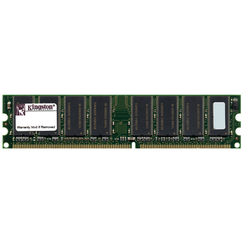 kingston KVR333X64C25/512 512MB 184p PC2700 CL2.5 16c 32x8 2Rx8 DDR333 2.5V UDIMM RFB