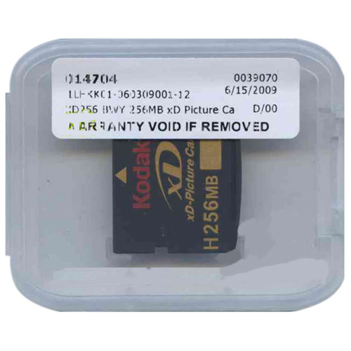 Kodak XD256 256MB xD Picture Card Type H