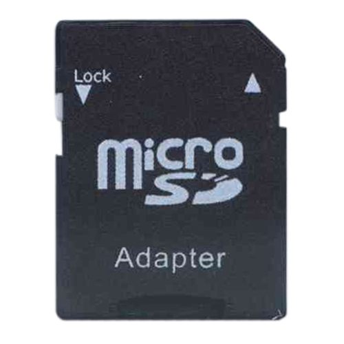 0MB SD to Micro SD Black Adapter Bulk