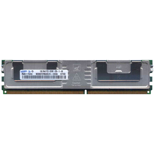1GB 240p PC2-5300 CL5 18c 64x8 DDR2-667 2Rx8 1.8V ECC FBDIMM