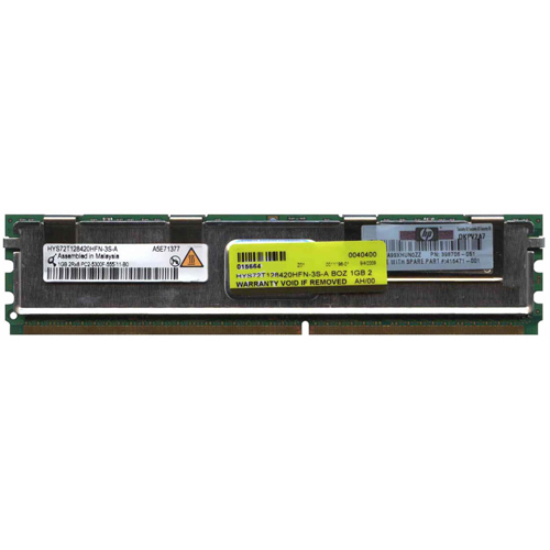 Qimonda HYS72T128420HFN-3S-A 1GB 240p PC2-5300 CL5 18c 64x8 Fully Buffered ECC DDR2-667 2Rx8 FBDIMM