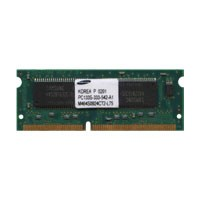 Samsung M464S0924CT2-L75 64MB 144p PC133 CL3 4c 8x16 SDRAM SODIMM Cisco NOB