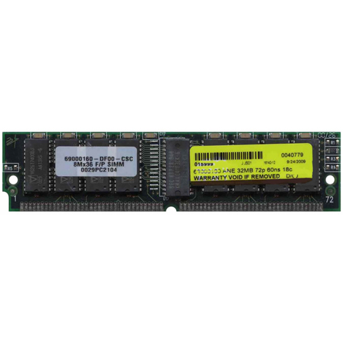 32MB 72p 60ns 18c 4x4 2K Parity FPM SIMM