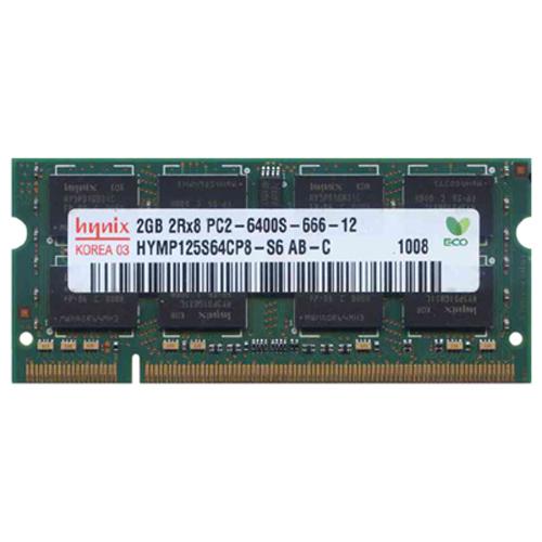 Hynix HYMP125S64CP8-S6 BJE 2GB 200p PC2-6400 CL6 16c 128x...