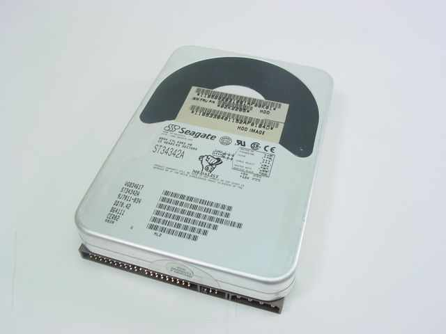4.3GB IDE ATA 4500RPM 3.5in x 1in 40p 66MB/s HDD Refurbished