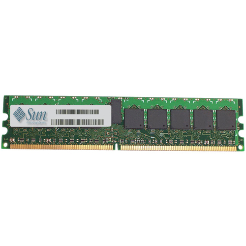 Sun Micro 371-1899-QIM 1GB 240p PC2-5300 CL5 18c 128x4 Registered ECC DDR2-667 DIMM Sun Original-NOB