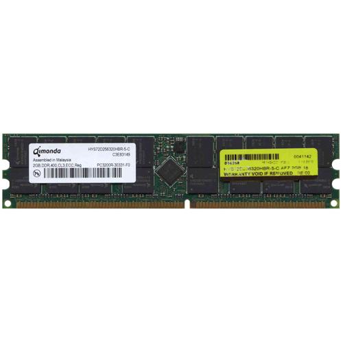 Qimonda HYS72D256320HBR-5-C AFZ 2GB 184p PC3200 CL3 36c 1...