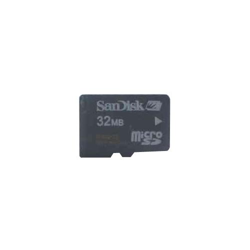 32MB 8p MSD Micro Secure Digital Card w/o Adapter Bulk RFB