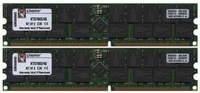 Kingston KTS7602/4G AGE 2GB 184p PC2100 CL2.5 36c 128x4 DDR266 2Rx4 ECC 2.5V RDIMM 1.2in NOB