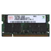 1GB 200p PC2700 CL2.5 16c 64x8 DDR SODIMM