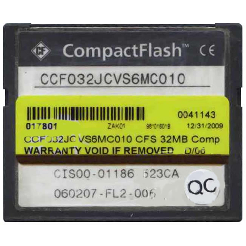 Cisco CCF032JCVS6MC010 32MB CompactFlash Card Cisco Original