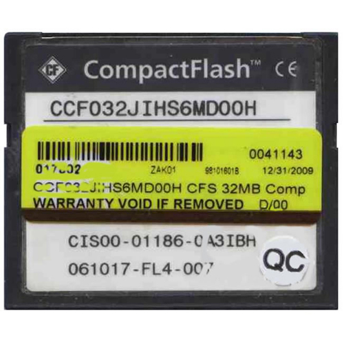 Cisco CCF032JIHS6MD00H 32MB CompactFlash Card Cisco Original