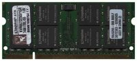 Kingston/Kingsto KVR667D2S0/1GR 1GB 200p PC2-5300 CL5 16c 64x8 DDR2-667 2Rx8 1.8V SODIMM RFB