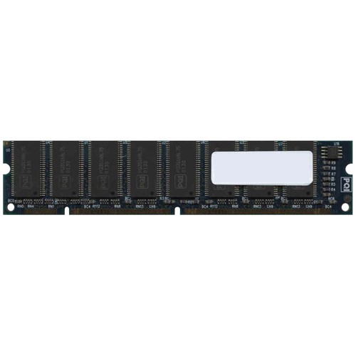 Major/3rd MT256U16S168-75-ZP04 256MB 168p PC133 CL3 16c 16x8 SDRAM 2Rx8 3.3V UDIMM RFB