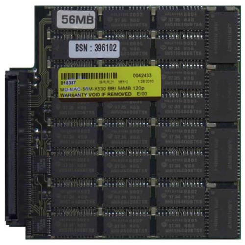 HITACHI/3RD MD-MAC-56M-X530 56MB 120p 60ns 28c 4x4 2K FPM Module Apple PB5300