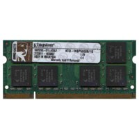 Hynix/Kingston KTD-INSP6000B/1G 1GB 200p PC2-5300 CL5 16c 64x8 DDR2-667 2Rx8 SODIMM RFB