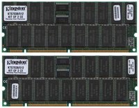 Hynix/Kingston KTS7038/512 2AFW 512MB 2x256MB 168p 60ns 36c 16x4 8K Buffered ECC EDO DIMM 2.5in