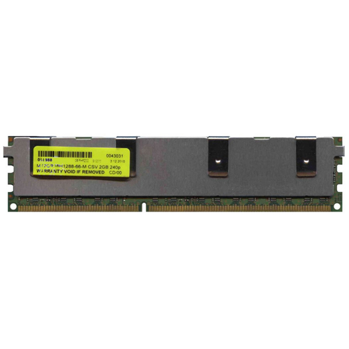 Micron/3rd MT2GR18H1288-66-M CSV 2GB 240p PC3-8500 CL8 18c 128x8 Registered ECC DDR3-1066 DIMM Mac P