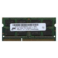 Micron MT16JSF25664HZ-1G1F1 CJT 2GB 204p PC3-8500 CL7 16c 128x8 DDR3-1066 2Rx8 1.5V SODIMM RFB W/MIX