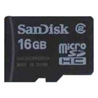 SanDisk SDSDQ-016G 16GB 8p MSDHC Class 2 Micro Secure Digital High Capacity Card w/o Adapter Bulk