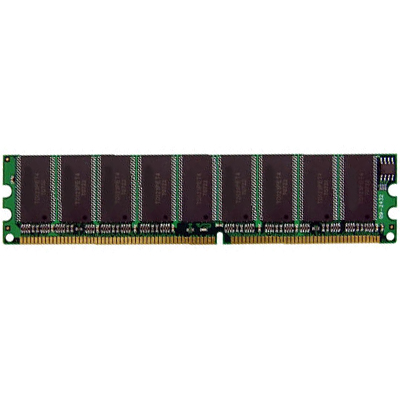 Gigaram GR2GU18D1288-21-MP1A 2GB 184p PC2100 CL2.5 18c 128x8 DDR266 2Rx8 2.5V ECC UDIMM RFB