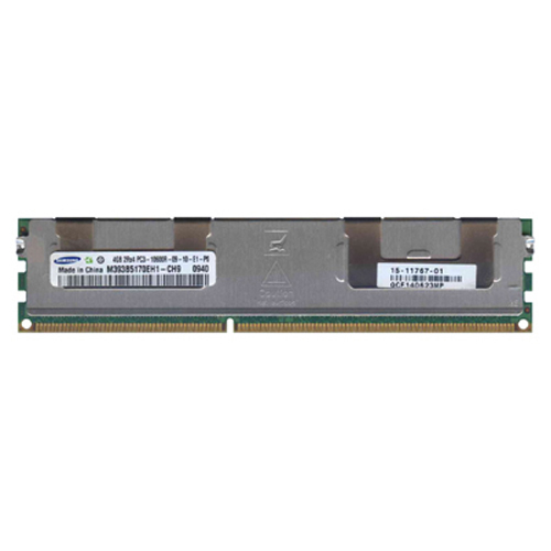 Samsung M393B5170EH1-CH9 4GB 240p PC3-10600 CL9 36c 256x4 DDR3-1333 2Rx4 1.5V ECC RDIMM  RFB W/3rd p
