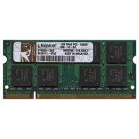 Kingston KY9530-QAB BJG 1GB 200p PC2-5300 CL5 16c 64x8 DDR2-667 2Rx8 1.8V SODIMM RFB