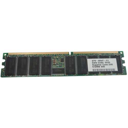 Sun Micro 370-6202-MIC 512MB 184p PC2100 CL2 18c 64x4 Registered ECC DDR DIMM Sun Org