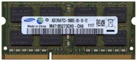 Samsung M471B5273CH0-CH9 4GB 204p PC3-10600 CL9 16c 256x8 DDR3-1333 2Rx8 1.5V SODIMM RFB W/3RD party