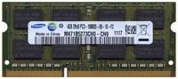 4GB 204p PC3-10600 CL9 16c 256x8 DDR3-1333 2Rx8 1.5V SODIMM RFB W/3RD party label