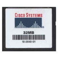 Cisco 16-2648-01 32MB 50p CF CompactFlash Card Cisco Original