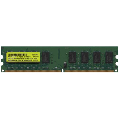 2GB 240p PC2-6400 CL6 16c 128x8 DDR2-800 2Rx8 1.8V UDIMM-NOB