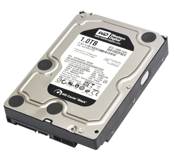 1TB SATAIII 7200RPM 3.5in x 1in 15p 6.0Gb/s HDD 64MB Cache