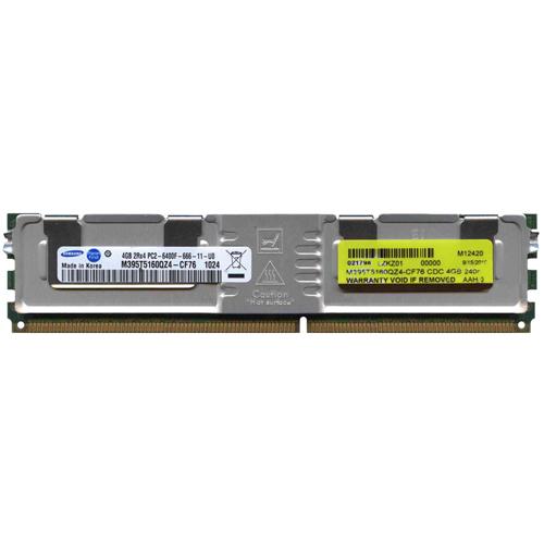 4GB 240p PC2-6400 CL6 36c 256x4 DDR2-800 2Rx4 1.8V ECC FBDIMM