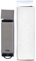 Gigaram UDF182-2GB DDY 2GB USB 2.0 Pendrive Rectangular with cap Silver Bulk in White Box