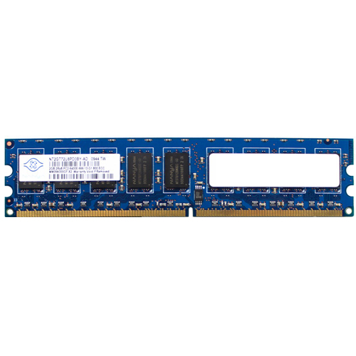 NANYA NT2GT72U8PD0BY-AD 2GB 240p PC2-6400 CL6 18c 128x8 DDR2-800 2Rx8 1.8V ECC UDIMM