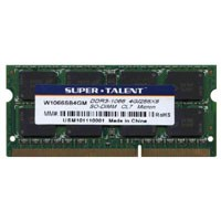 4GB 204p PC3-8500 CL7 16c 256x8 DDR3-1066 2Rx8 1.5V SODIMM
