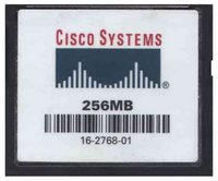 Cisco 16-2768-01 256MB 50p CompactFlash Card Cisco Original Labeled