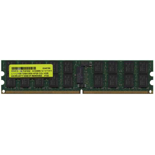 4GB 240p PC2-6400 CL6 36c 256x4 DDR2-800 2Rx4 1.8V ECC RDIMM-NOB