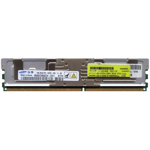 1GB 240p PC2-5300 CL5 18c 64x8 DDR2-667 2Rx8 1.8V ECC FBDIMM RFB