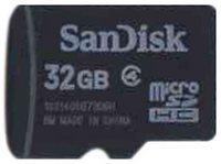 32GB 8p MSDHC Class 4 Micro Secure Digital High Capacity Card w/o Adapter Bulk in Tray