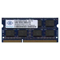 Nanya NT2GC64B8HC0NS-BE 2GB 204p PC3-8500 CL7 16c 128x8 DDR3-1066 2Rx8 1.5V SODIMM-RFB