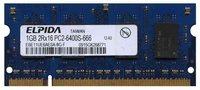 1GB 200p PC2-6400 CL6 8c 64x16 DDR2-800 2Rx16 1.8V SODIMM RFB T20