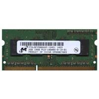 2GB 204p PC3-10600 CL9 8c 256x8 DDR3-1333 1Rx8 1.5V SODIMM W/HP label