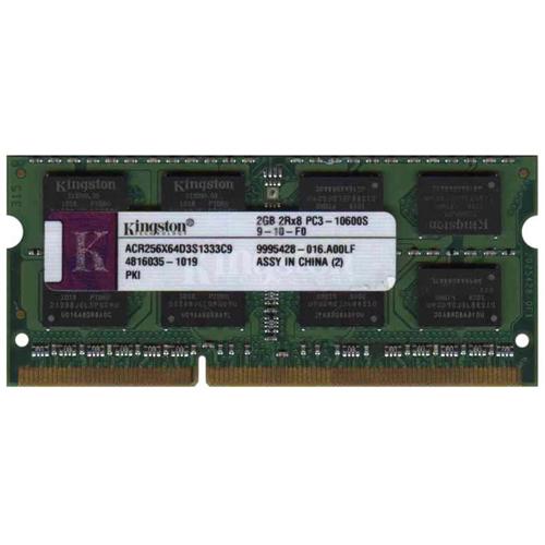 2GB 204p PC3-8500 CL7 16c 128x8 DDR3-1066 2Rx8 1.5V SODIMM  RFB T20
